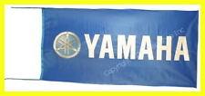 YAMAHA FLAG BANNER  BLACK YZF-R6 XJR1300 r1 5 X 2.45 FT 150 X 75 CM