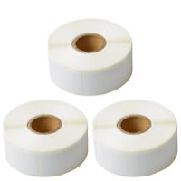 """3 Rolls of 750 Book Spine Labels For DYMO 30347 LW 400 450 Twin Turbo 1"""" x 1.5"""""""