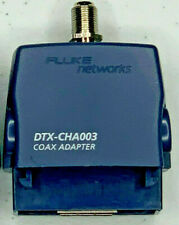 Fluke Networks Dtx Cha003 Dtx Series Coaxial Cable Test Adapter For Dtx 1800