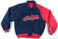 Vintage Cleveland Indians Starter Diamond Collection MLB Baseball Dugout Jacket