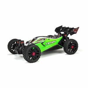 Arrma RC Buggy TYPHON 4X4 MEGA Brushed 1:10th 4wd Buggy grün Nr. ARA4206V3I