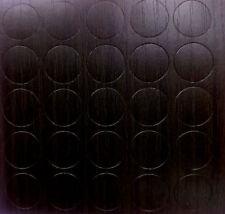 Wenge x25 Auto Adhésif Bâton meubles Autocollant Vis Trou COVER CAPS couleur