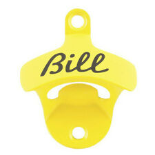 YELLOW High Quality Durable Barware Drinkware Bill Wall Mounted Bottle Opener