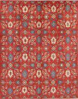 New Art & Craft Kazak Pakistan Oriental Area Rugs Hand-made Wool Carpet