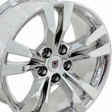 """18"""" Wheels Fits Cadillac STS years 2005 - 2011 Chrome Rims Set of 4 18x8.5 5X115"""