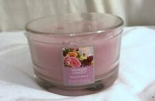 New Yankee Candle 3-Wick Beautiful Bloom Scent Dish Candle 17oz