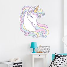 Vinyl Home Living Room Legendary Creature Decor Design Unicorn Wall Decal 20x22