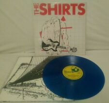 The Shirts ~ The Shirts SHSP4089 UK 1st A-1U/B-2U BLUE VINYL EX/EX cw inner