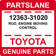12363-31020 Toyota OEM Genuine ROD, ENGINE MOVING CONTROL