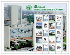 UNO WIEN - 2014 GRUSSMARKEN BOGEN 820-29 - 35 JAHRE VIENNA INTERNATIONAL CENTRE