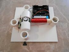 DIY SIMPLE REED SWITCH MOTOR KIT #4 SCIENCE FAIR PROJECT ELECTRICITY EDUCATIONAL
