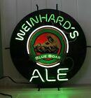 Vintage Weinhard's Blue Boar Ale Neon Beer Sign 1994
