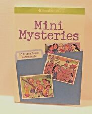 Mini Mysteries : 20 Tricky Tales to Untangle by Rick Walton - American Girl Book