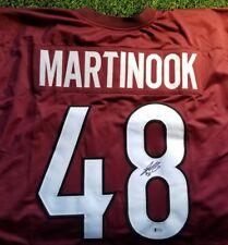 Jordan Martinook Signed Autographed Coyotes Custom Jersey Beckett Coa B23237