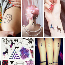 Geometric Temporary Tattoos Body Arm Leg Waterproof Flash Tattoo Stickers Hot