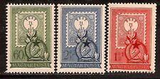HUNGARY 1951 FLOWERS SC # 973 B207-208 MNH