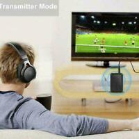 Bluetooth 5.0 Sender Empfänger 2 IN 1 Wireless Jack Aux NEW Adapter 3.5mm I5M9