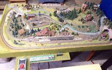 ✅ HAMMER Fleischmann Spur N Fertig Eisenbahn Anlage Ideal Minitrix Arnold