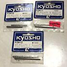 NIB Vintage Kyosho nitro FZW10, 11, 12 SUPERTEN Titanium Suspension Shafts