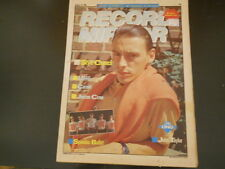 Spandau Ballet, UB40, Paul Weller, Dee Snider - Record Mirror Magazine 1983