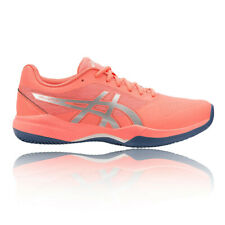 Asics Womens Gel-Game 7 Tennis Shoes Orange Sports Breathable Lightweight