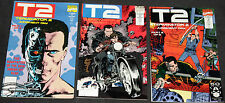 Marvel Copper Age TERMINATOR 2: JUDGEMENT DAY 3pc Count Mid Grade Comic Lot VF