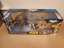BATMAN THE DARK KNIGHT RISES BATTLE AT THE BANK FIGURE PLAYSET BY MATTEL