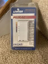 New Leviton Mural 602-Mci10-1Lw Decora 1000 Va Scene Lighting Dimmer White