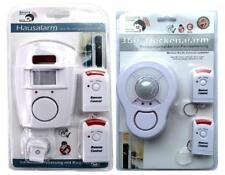 Set Hausalarm & Deckenalarm mit PIR- Bewegungsmelder mit Fernbedienung   Alarm