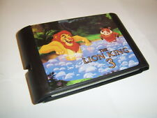 The Lion King 3 game for Sega Megadrive Genesis consoles