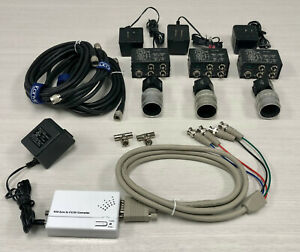Sony Hyperspectral or Polarimetric Camera Set Infrared through Ultraviolet WORKS