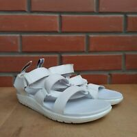 Dr Martens Sandals Women 5 UK 7 US 38 Redfin Gladiator style White Hydro leather