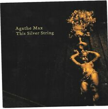 AGATHE MAX SIlver String CD French violinist for fans of Tony Conrad Steve Reich