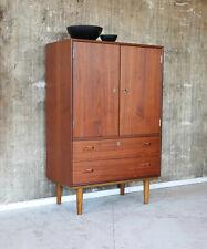60er Teak Kommode Highboard Mid-Century 60s Cabinet Vintage Sideboard 50er 50s