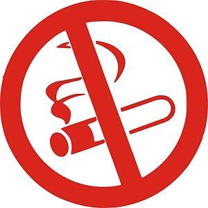 Sticker Vinilo - Prohibido Fumar - No Smoking - Vinyl - Pegatina - AUFKLEBER