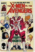 """X-MEN vs THE AVENGERS"" Issue # 4 (July, 1987) (Marvel Comics)"