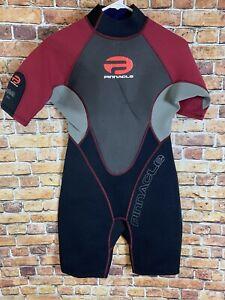 Pinnacle Spirit 3mm Women's Shorty Size XL Diving Water Sports Wetsuit