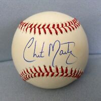 CHITO MARTINEZ AUTOGRAPHED Official 90s MLB AL BASEBALL Baltimore Orioles BELIZE