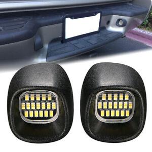 LED License Plate Light Rear Lamps Set for Blazer S10 Pickup Jimmy S-15 Sonoma