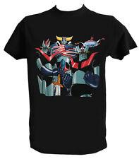 T shirt Goldrake, Mazinga Z, Great Mazinger, Goldorak, Mazinger Z, Grendizer