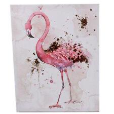 40 CM FLAMINGO peinture Art moderne Décoration Wall Hanging Bird Wildlife New