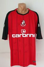BOURNEMOUTH 2010/2011 HOME SQUAD SIGNED FOOTBALL SHIRT JERSEY TOP CARBRINI XXL