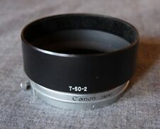 Canon metal lens hood T-50-2 50mm for Canon 50mm/F1.4 lens