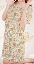 Floral Rainbow Unicorns Women Short Sleeve String Loose Dress b124 acc03460
