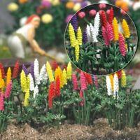 OO/HO Garden Scenery - Lupin plants (50 flowers+leaves) Busch 1218 free post F1