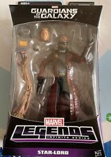 Guardians of the Galaxy STAR-LORD Marvel Legends Action Figure MIB w/ Groot BAF