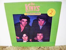 THE KINKS, A COMPLETE COLLECTION, RARE 1984 NEAR MINT, 2 LP SET COLLECTION