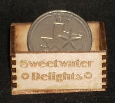 Dollhouse Miniature Sweetwater Delights Produce Crate 1:12 Vegetables Fruit Farm