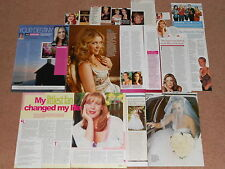 16- GINA JEFFREYS Magazine Clippings
