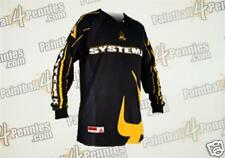 PAINTBALL  JERSEY ( NEW )   SYSTEM X     ( YELLOW )